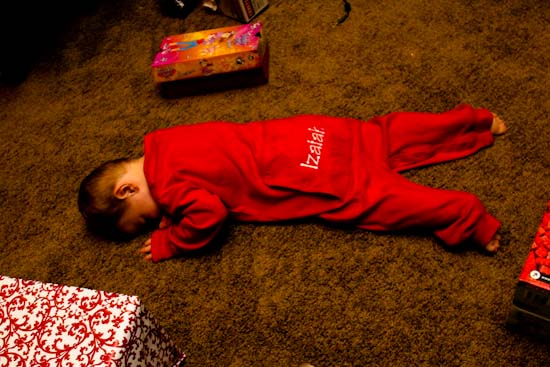 Christmas PJs too Big