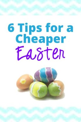 celebrating easter on the cheap