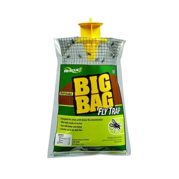big bag of flies - fly repellent fly bag
