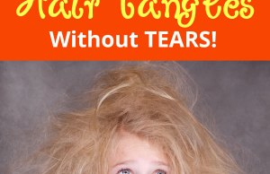 How to Cure Hair Tangles Without Tears!