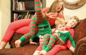 christmas pajamas photo