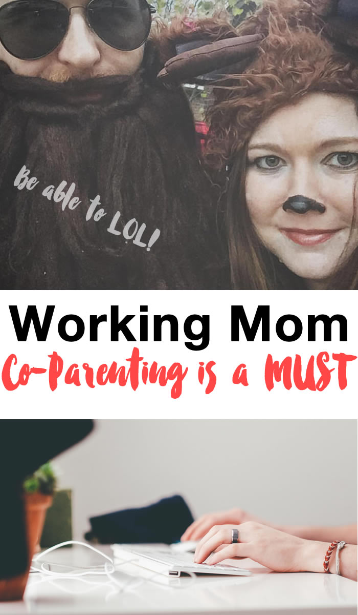 Co-parenting and being a working mom