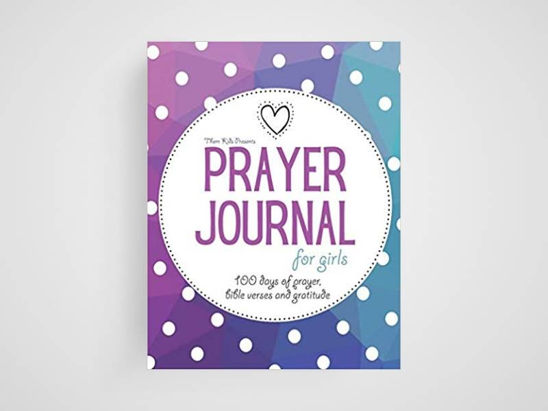 prayer journal for girls book