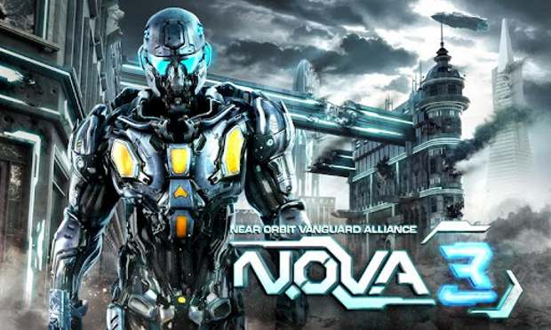 Gameloft's NOVA 3 Now Available For Android (1/3)