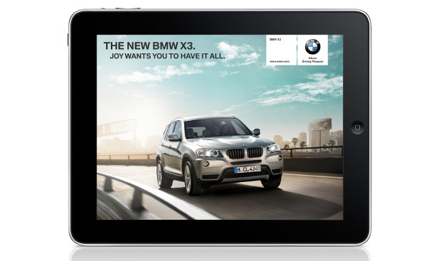 BMW magazine app now available for iPad