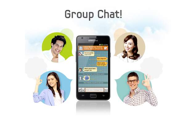 Samsung ChatON now accessible via web browser