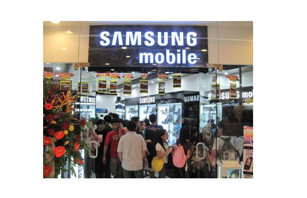 Samsung now the No 1 mobile phone maker
