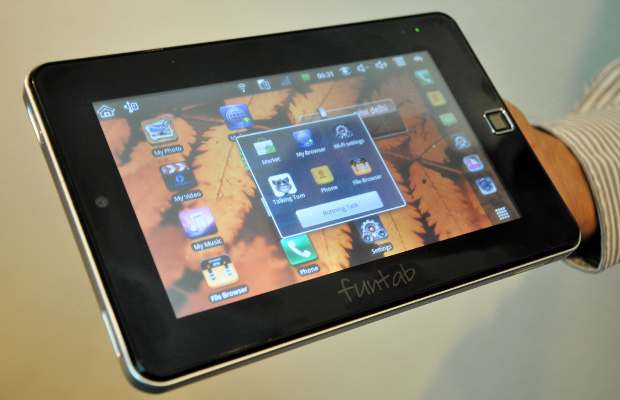Hands on Fonetab Android tablet