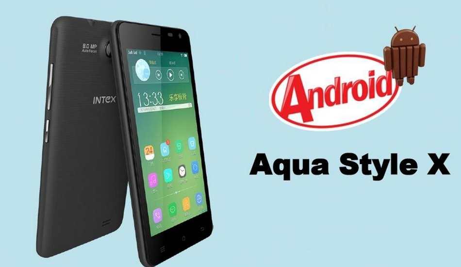 Moto E alternative: Intex Aqua Style X arrives for Rs 4,890, offers 4.5' display, quad core CPU