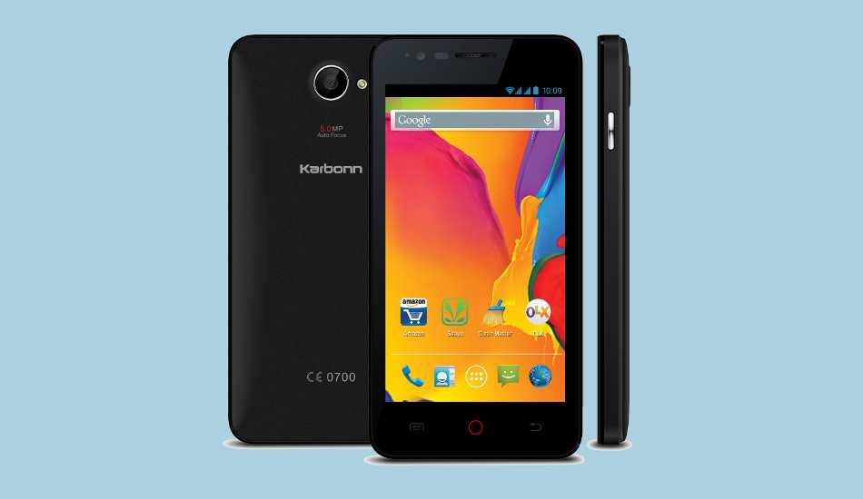 Karbonn Titanium S20 launched with free Aircel data