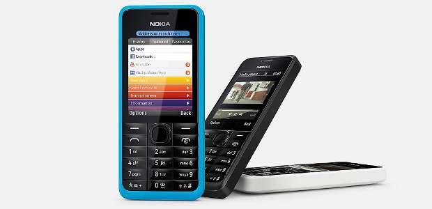 Nokia 301 with 3.5G network support arrives for Rs 5349