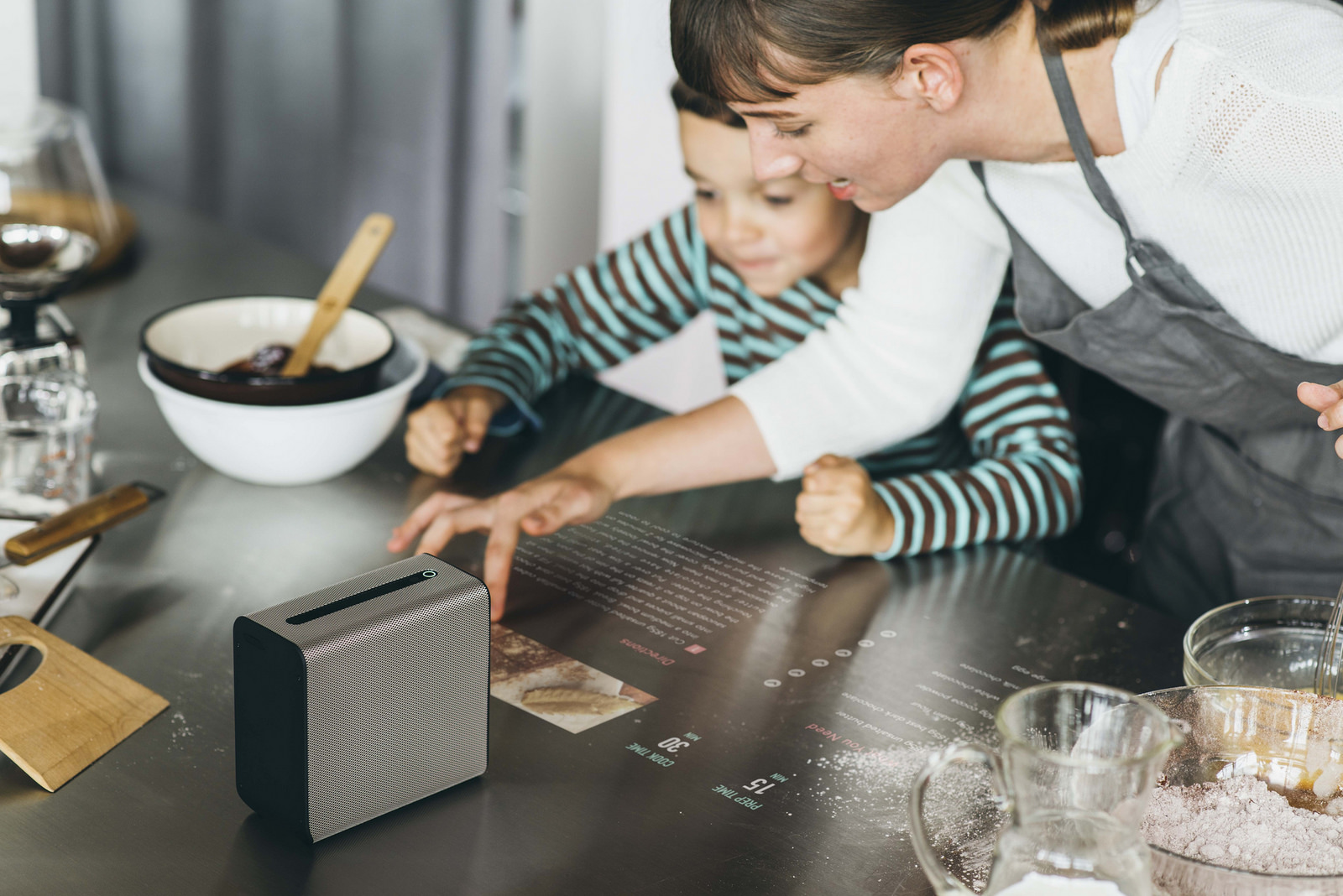 MWC 2017: Sony unveils 'Xperia Touch' interactive Android projector and an open-ear concept headphones