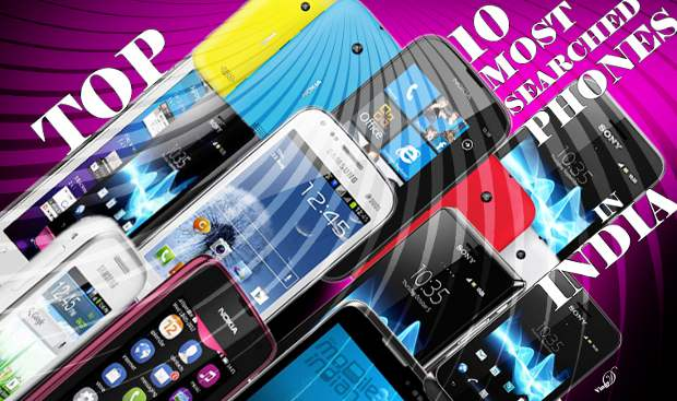 Top 10 most searched phones in India