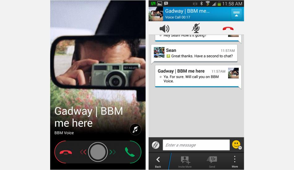 BBM for iOS, Android to get voice calling support