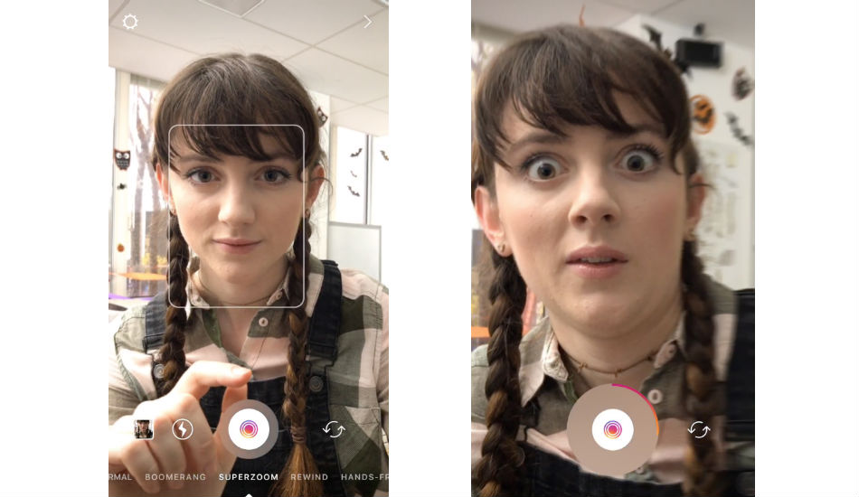Instagram introduces Superzoom and Halloween creative tools