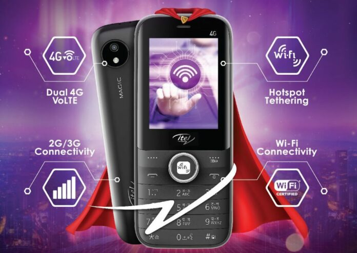 itel Magic 2 4G Feature Phone Launched in India for Rs 2,349