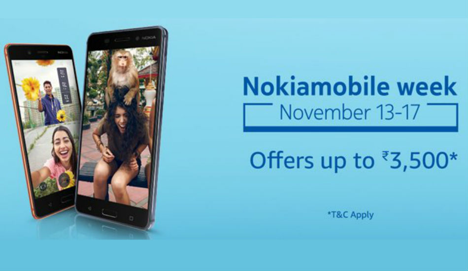 Nokia 6 and Nokia 8 gets limited time discount on Amazon India
