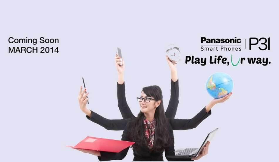 Quad core Panasonic P31 phablet launched in India for Rs 11,990