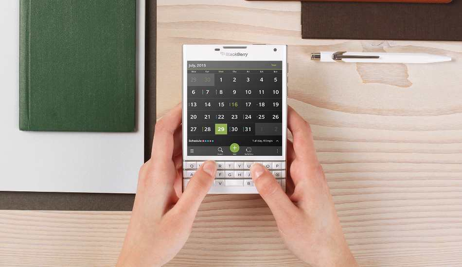 BlackBerry Passport launched in India for Rs 49,990