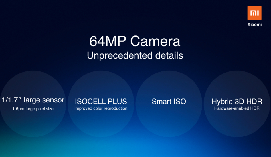 Xiaomi debuts 64MP tech, teases 108MP camera will be there soon