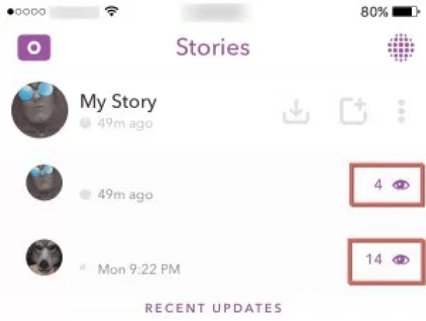 What Do The Numbers Mean On Snapchat The Mobile Update