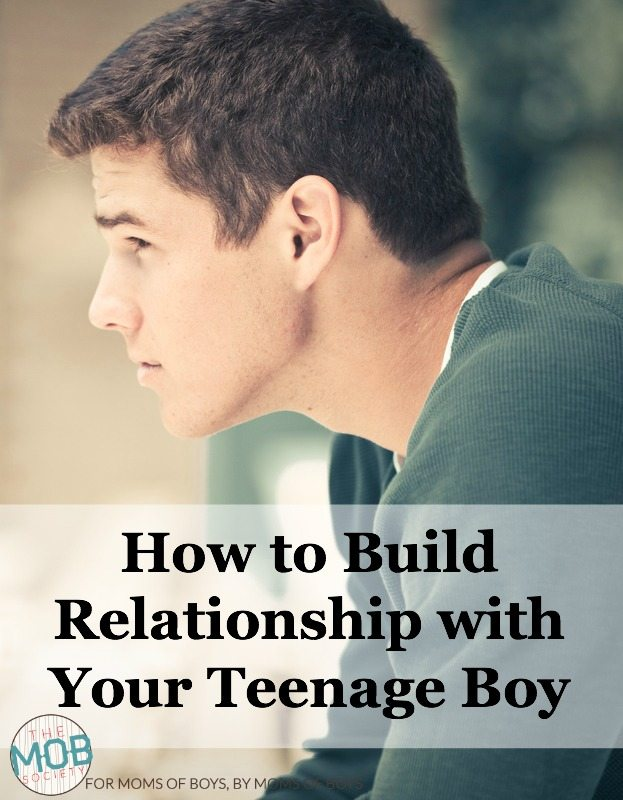 We must commit to building relationship with our boys so that when troubles come they'll have a safe place to land.