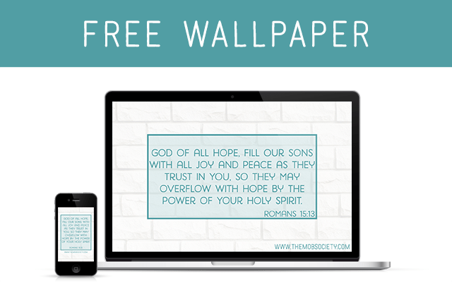 Choosing a Verse to Pray for 2015 (and a FREE wallpaper)