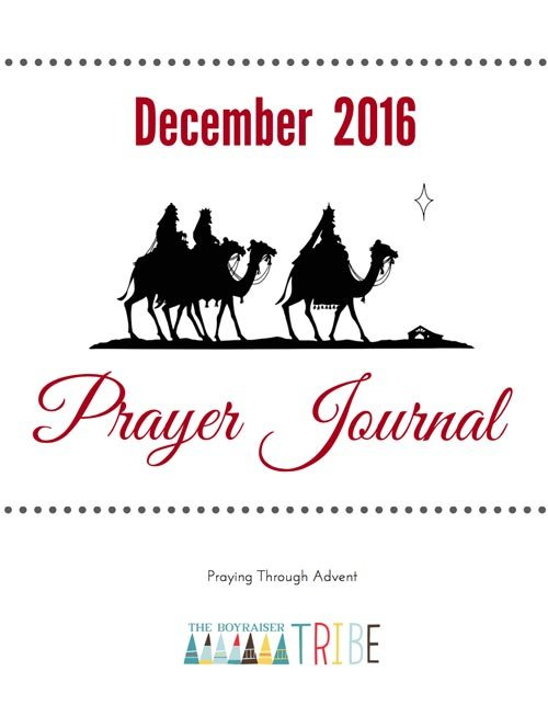 Tribe Prayer Journal