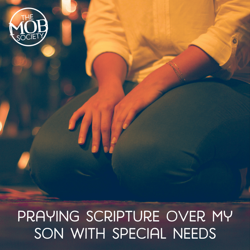 When James was diagnosed with autism, the verse I had prayed over him for years became even more important.