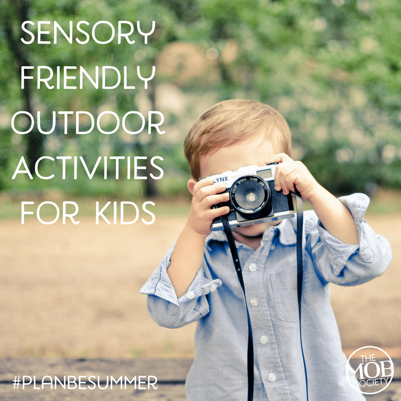 If you have a little boy who struggles with sensory processing disorders, try some of these ideas and maybe you'll find a new favorite summertime activity!