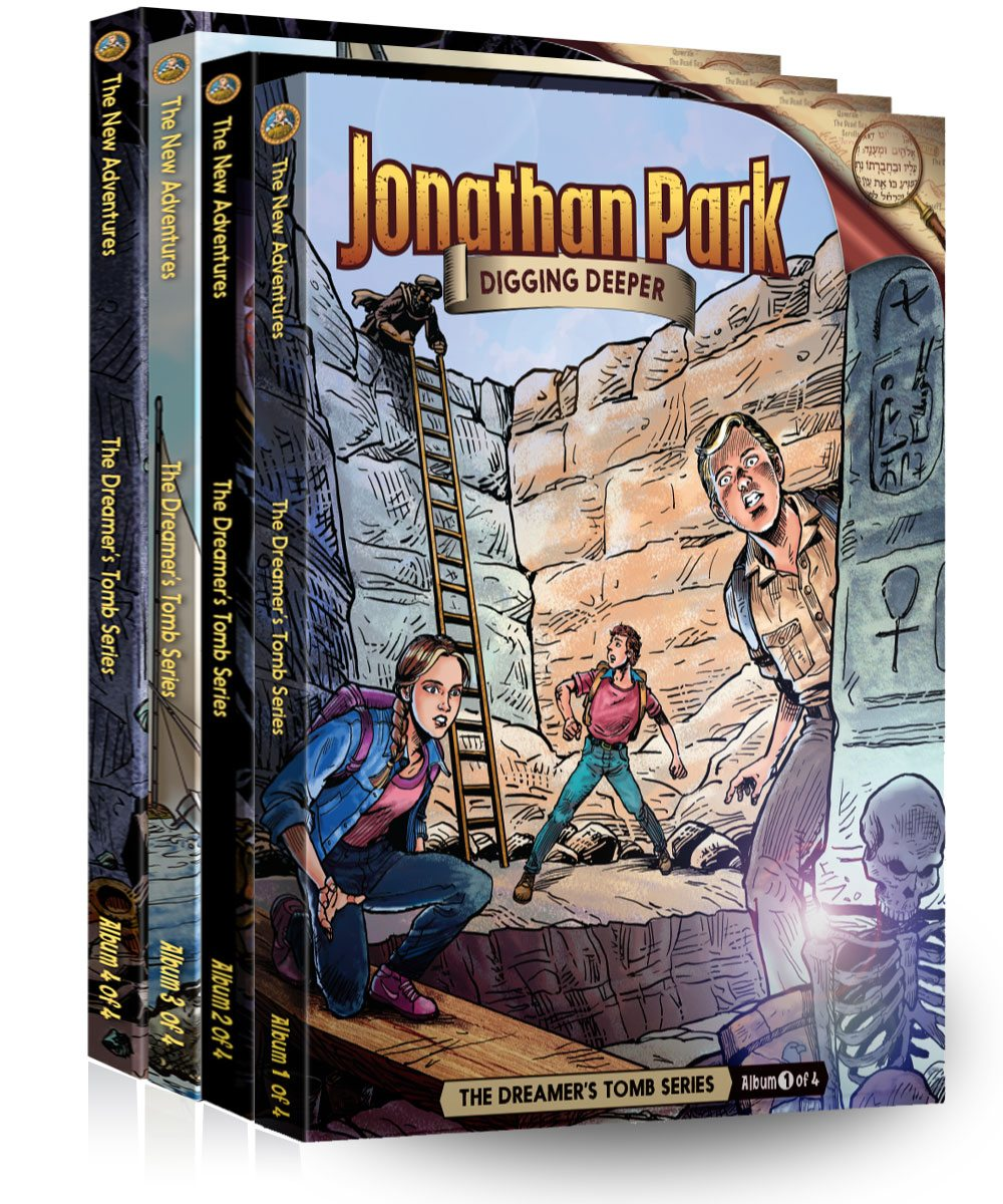 Hitting the Road with New Jonathan Park Adventures!