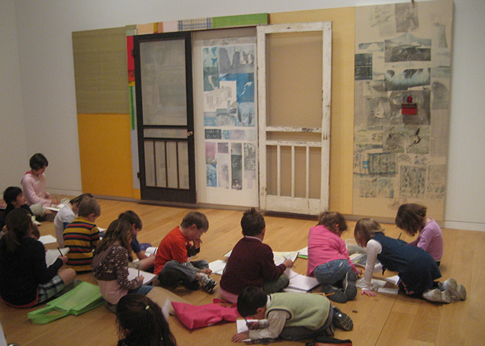 The Modern Art Museum ~ Fort Worth Kids Drawing Program