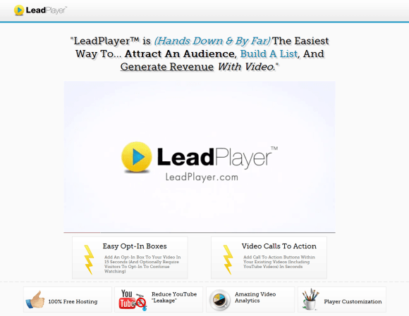 LeadPlayer for YouTube by LeadBrite & Clay Collins
