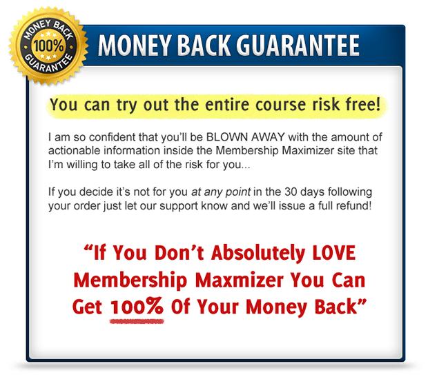 Membership Maximizer Guarantee