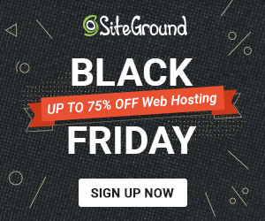 SiteGround Black Friday 2018
