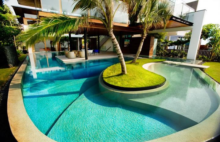 Dream Pool - The Modern Home on Dream Backyard With Pool id=58166