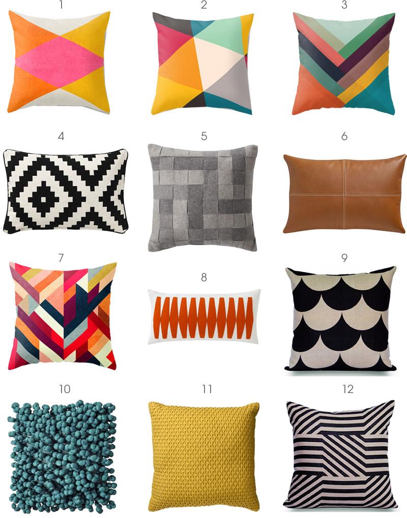 Modern Pillows - The Modern Home
