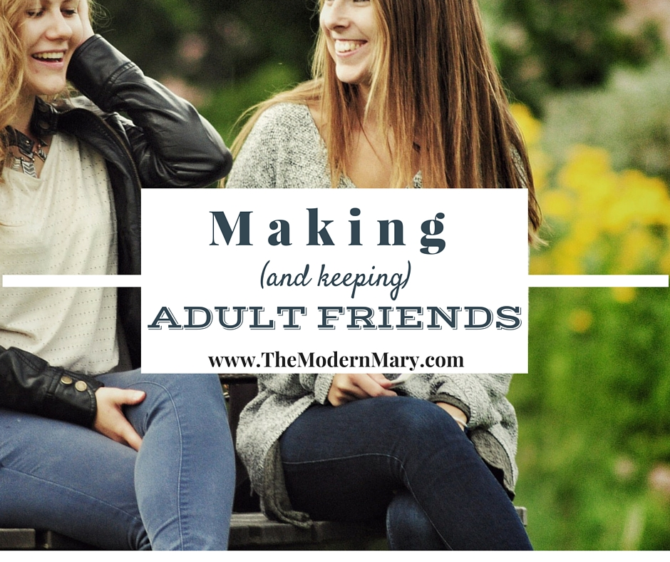 No matter how introverted you might be, there is an urge to have meaningful friendships and be a part of a like-minded tribe. It can be hard to make friends as an adult, but it's so worth it. Here are some helpful suggestions on making and keeping friends as an adult.