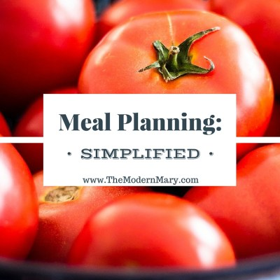 Meal Planning: Simplified