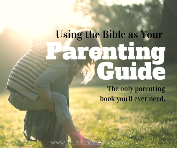 Seriously...the best parenting guide ever. And you probably already have it in your house! Plus a FREE DOWNLOAD!