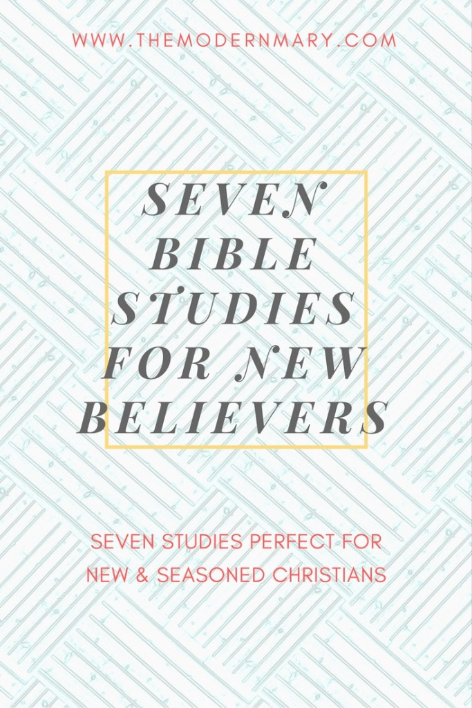 Are you looking for the perfect Bible study? Check out these 7 options that would be great for new or seasoned believers!