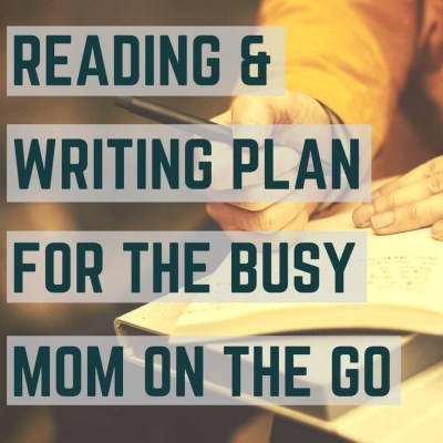 Scripture Reading & Journaling Plan for the Busy Mom Looking for Quiet Time