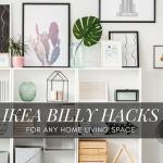 20 Ikea Billy Bookcase Hacks The Modern Mocha