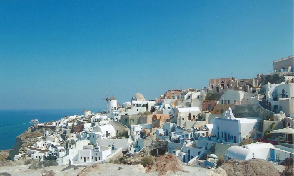 Stranded in Santorini: My Big Fat Greek Lesson