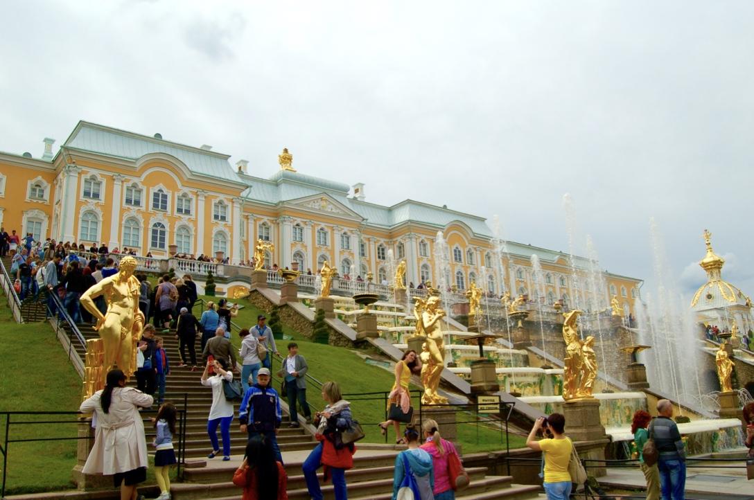 Peterhof Palace Grand Cascade