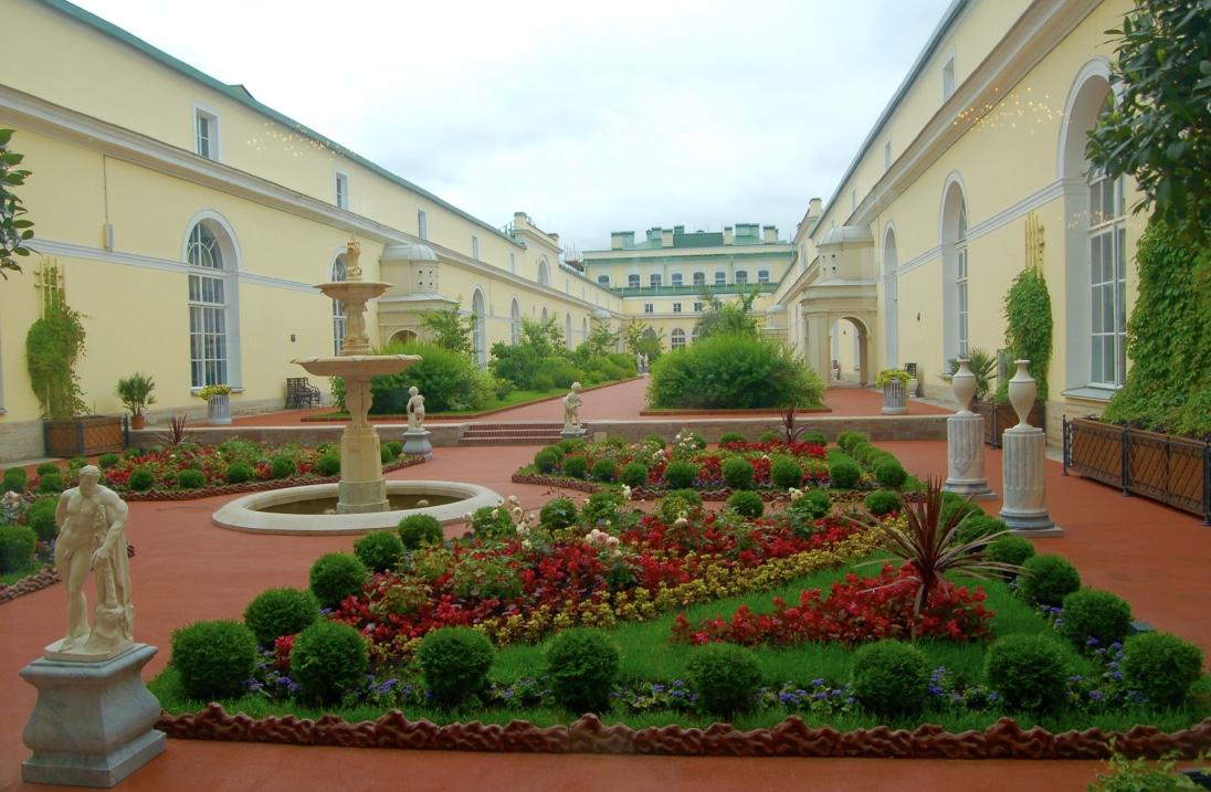 Hermitage Museum Courtyard