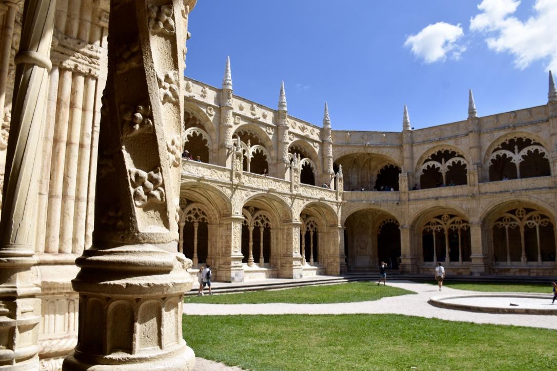 Monastery Cloister 2