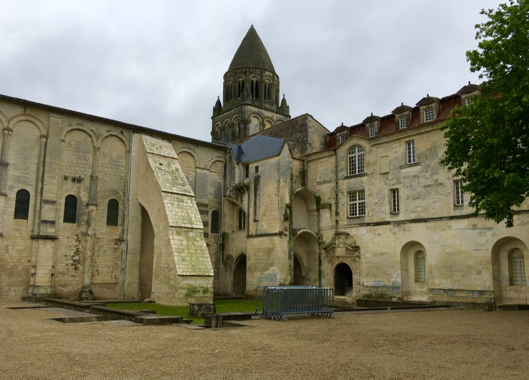 Abbaye aux Dames in Saintes, France.
