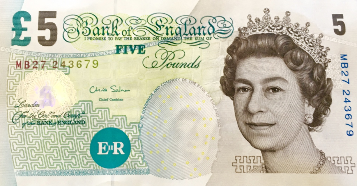 It's easy to confuse a British Pound with a Guernsey Pound!