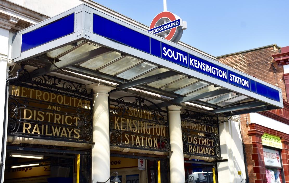 london south kensington tube station